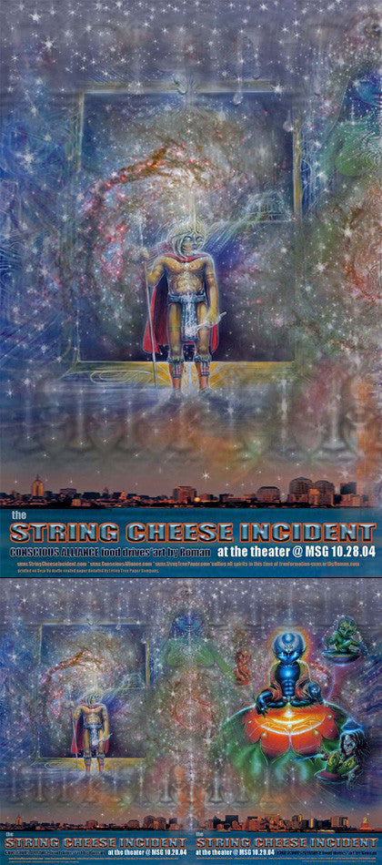 String Cheese Incident New York City -2004 (2 Panel)