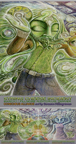 String Cheese Incident Denver - 2004 (3 Panel)