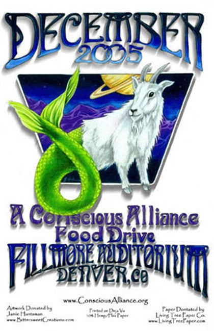 Fillmore Auditorium Food Drive - 2005