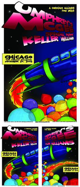 Umphrey's McGee Chicago - 2005 (2 Panel)