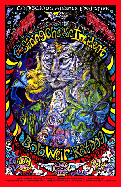 String Cheese Incident/ Bob Weir & Ratdog Red Rocks Amphitheatre - 2006