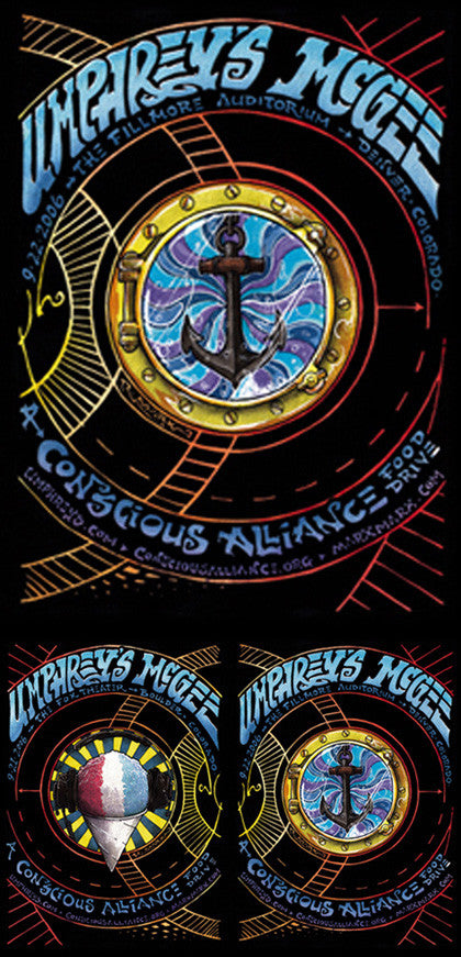 Umphrey's McGee Denver - 2006 (2 Panel)