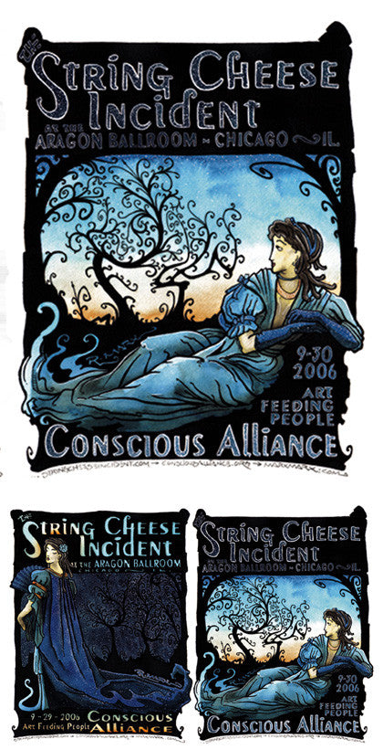 String Cheese Incident Chicago - 2006 (2 Panel)