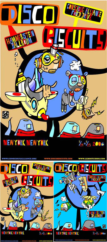 Disco Biscuits NYC - 2006 (2 Panel)