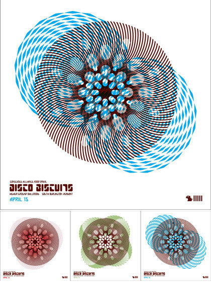 Disco Biscuits South Burlington - 2006 (3 Panel)