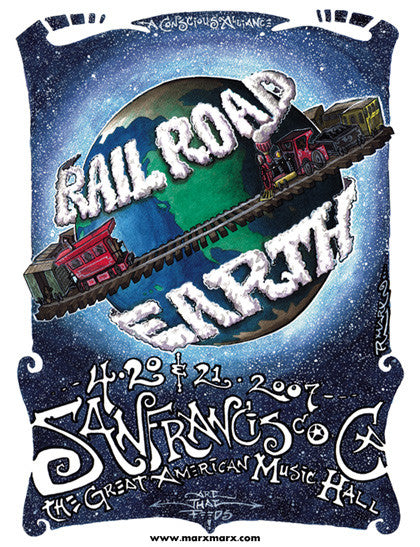 Railroad Earth San Francisco - 2007