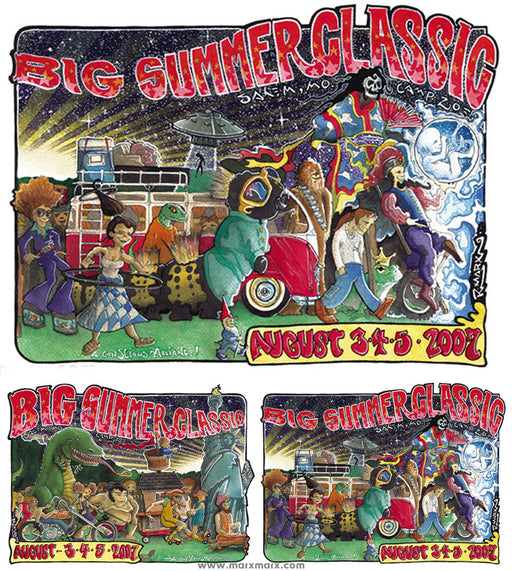 Big Summer Classic - 2007 (2 Panel)