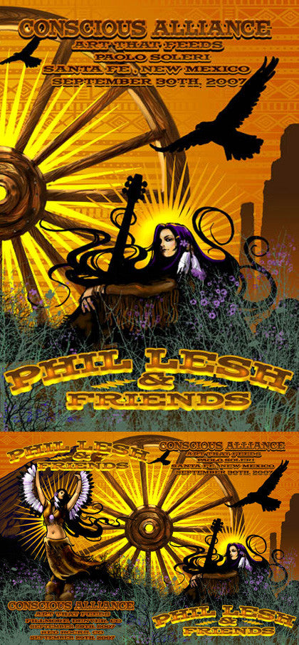 Phil Lesh and Friends - Denver / Morrison / Santa Fe 2007 (2 Panel)