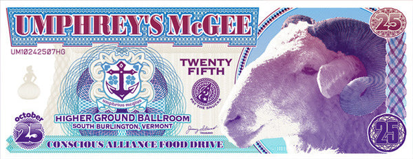 Umphrey's McGee South Burlington - 2007 (2 Panel)