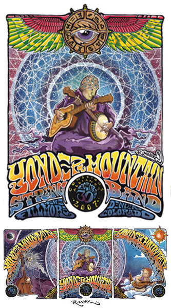 Yonder Mountain String Band Denver - 2007 (3 Panel)