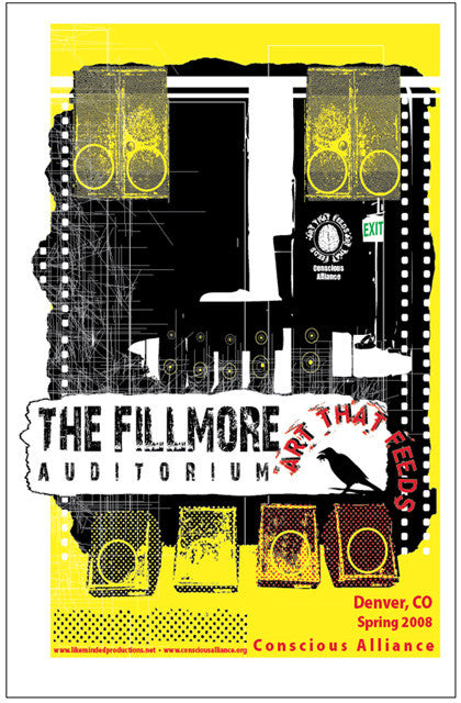 Fillmore Auditorium Food Drive - 2008