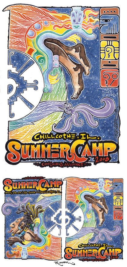 Summer Camp Music Festival - 2008 (2 Panel)