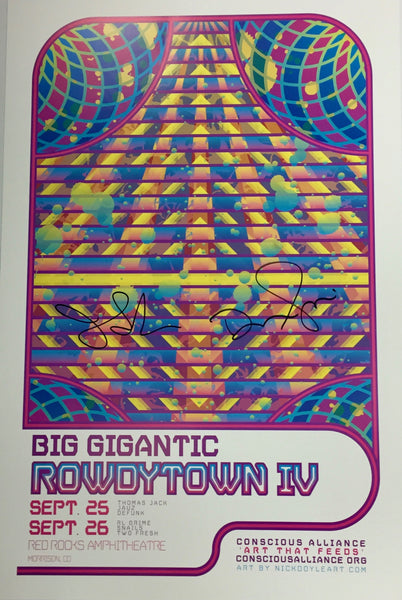 Big Gigantic Rowdytown IV - 2015