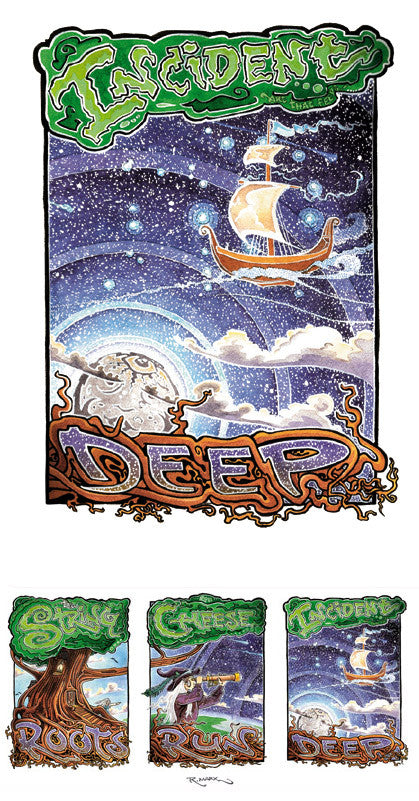 String Cheese Incident Roots Run Deep Tour - 2011 (3 Panel)