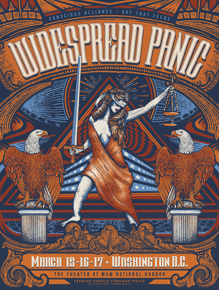 Widespread Panic Washington D.C - 2018