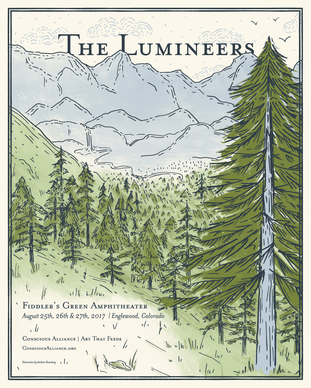 The Lumineers Denver - 2017