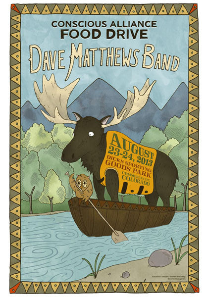 Dave Matthews Band Commerce City - 2013