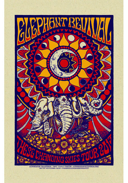 Elephant Revival These Changing Skies Tour - 2013