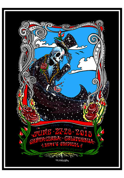 Grateful Dead Fare Thee Well Santa Clara - 2015