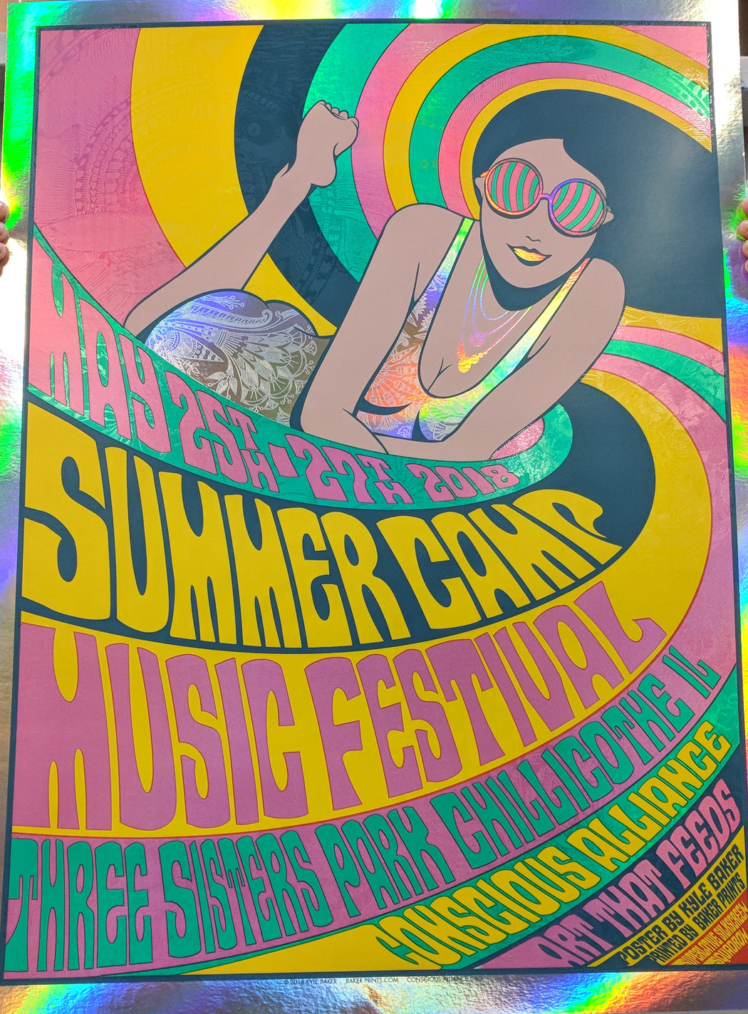 Summer Camp Music Festival - 2018 (FOIL VARIANT)