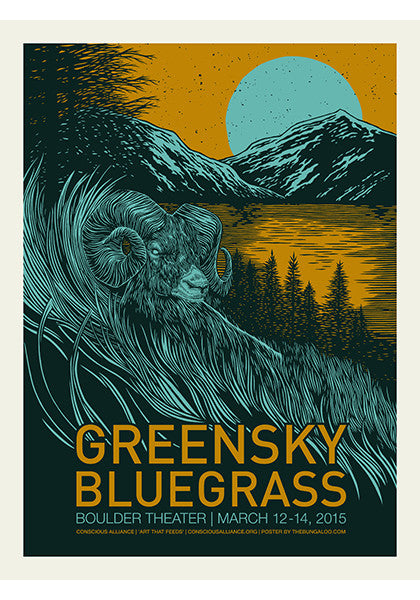 Greensky Bluegrass Boulder Theater - 2015