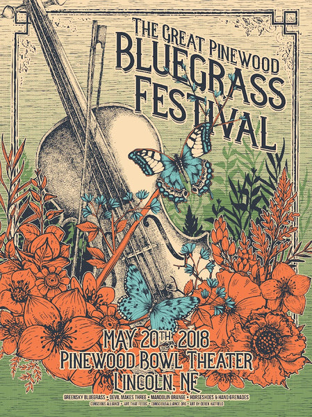 The Great Pinewood Bluegrass Festival - 2018