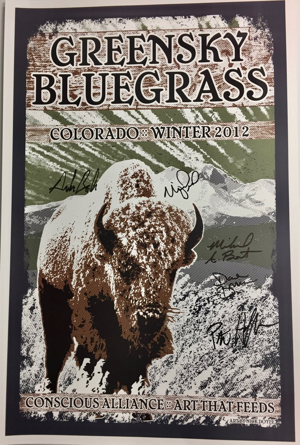 Greensky Bluegrass Winter Tour - 2012