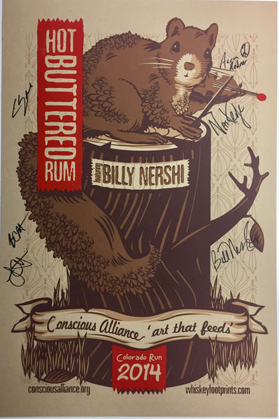 Hot Buttered Rum with Billy Nershi - 2014