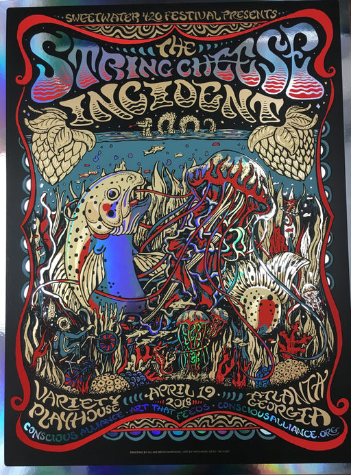 STRING CHEESE INCIDENT ATLANTA - 2018 (FOIL VARIANT)