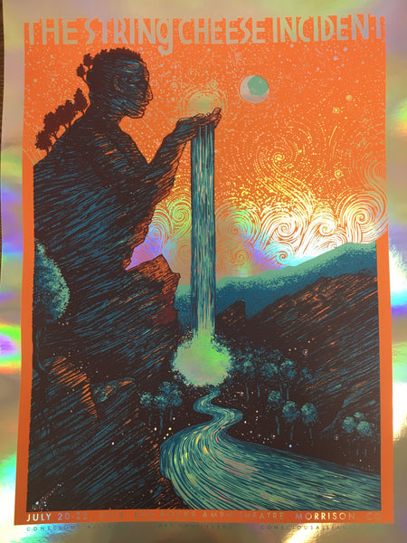 STRING CHEESE INCIDENT MORRISON - 2018 (FOIL VARIANT)