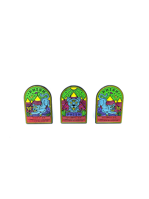 PHISH - COLORADO 2018 PIN SET