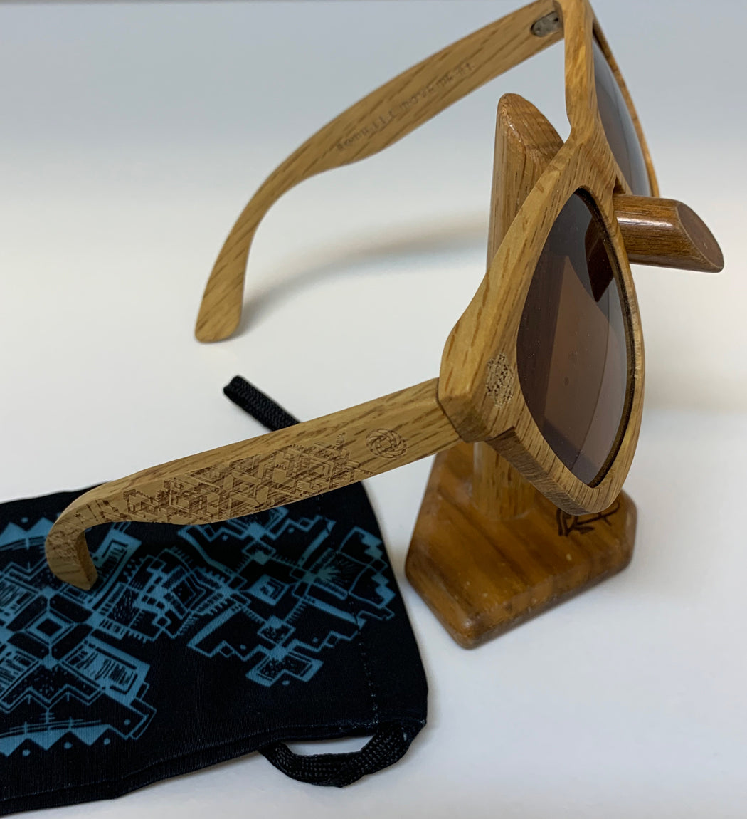 Sunglasses by Nomadic Movement - Duwood