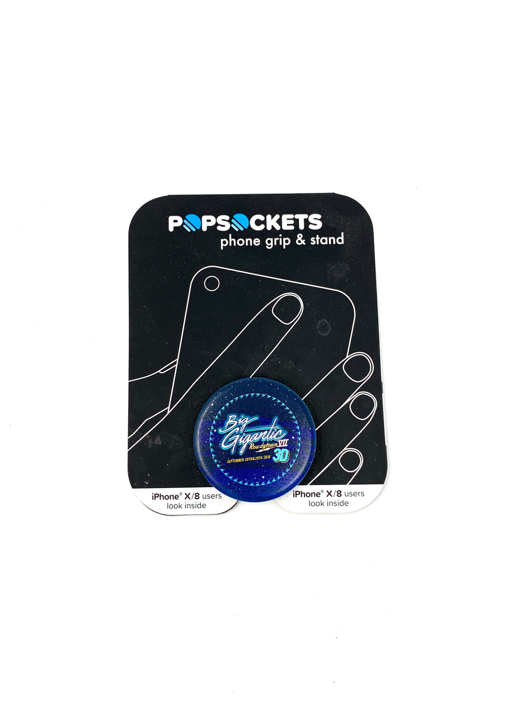 BIG GIGANTIC ROWDYTOWN VII POP SOCKET - 2018