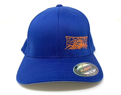 Mountain Hat Blue/Orange