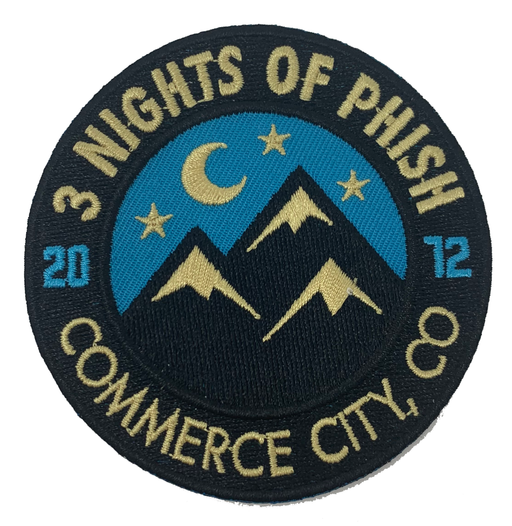 Phish - Colorado 2012 Patch Set