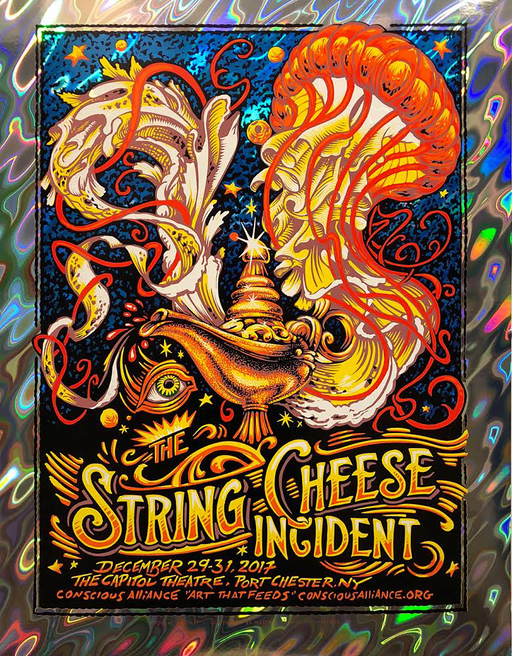 String Cheese Incident Port Chester - 2017 NYE (Foil Variant)