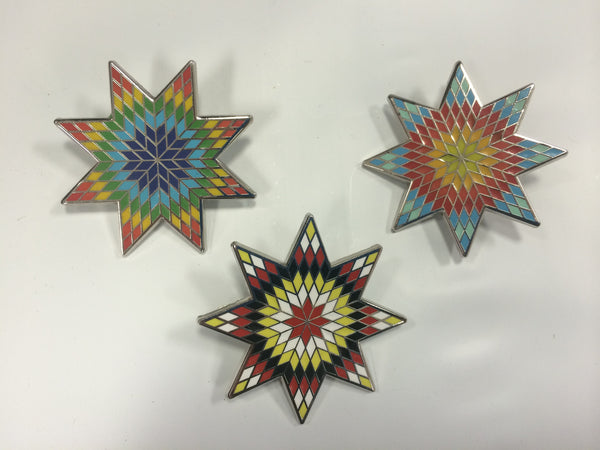 Lakota Star Inspired Pin