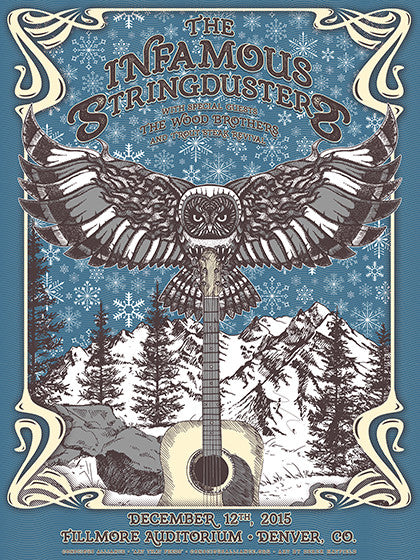 Infamous Stringdusters Denver - 2015