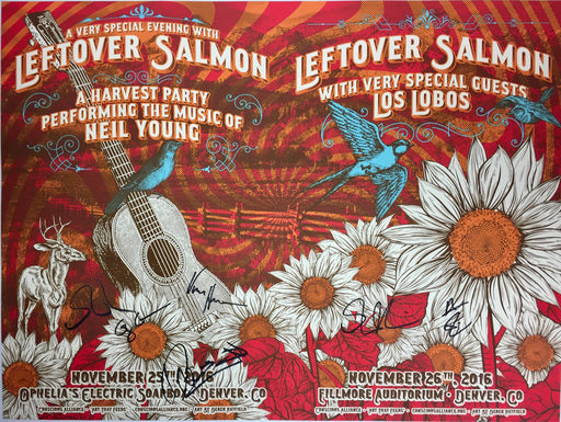 Leftover Salmon Harvest Party w/ Neil Young and w/ Los Lobos - 2016