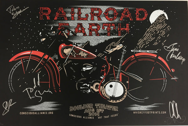 Railroad Earth Boulder - 2014 (Brown)