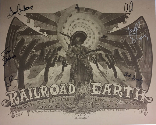 Railroad Earth (Grey & Tan) - 2015