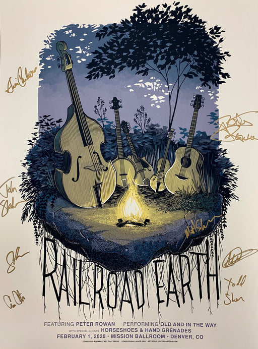 Railroad Earth Denver - 2020