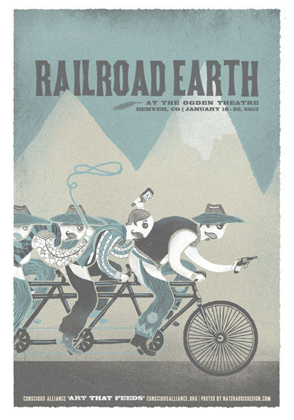 Railroad Earth Denver - 2013