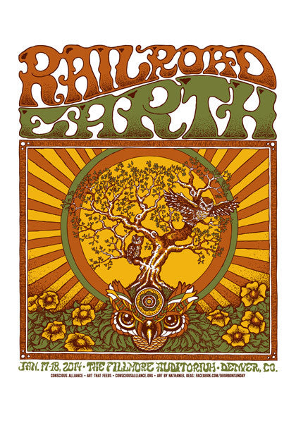 Railroad Earth Denver - 2014