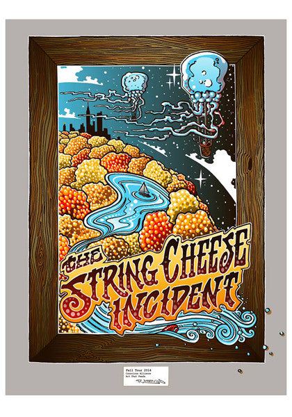 String Cheese Incident Fall Tour - 2014
