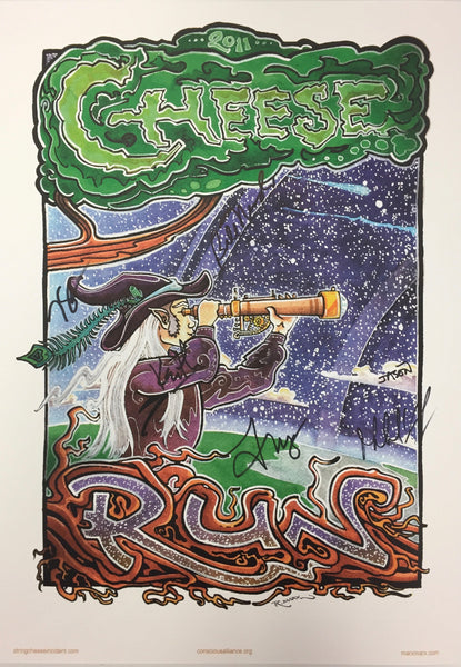 String Cheese Incident Roots Run Deep - 2011 (3 Panels)