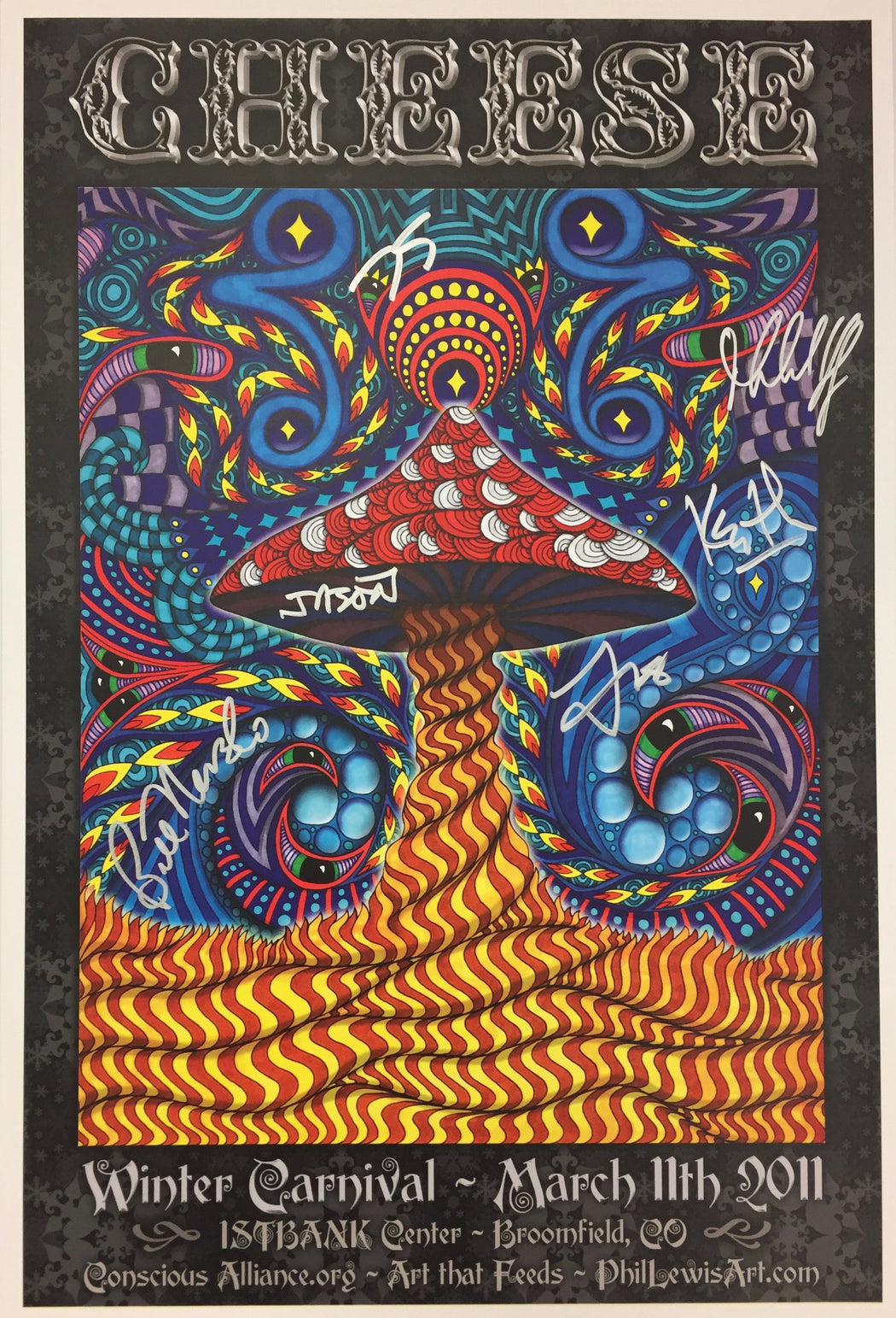String Cheese Incident Winter Carnival - 2011 (3 Panel)