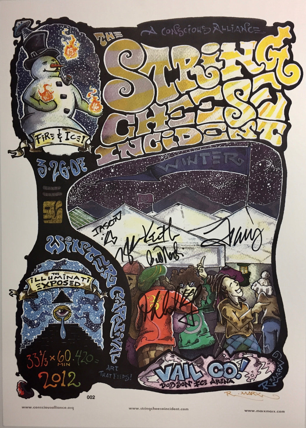 String Cheese Incident Vail - 2007 (2 Panel)