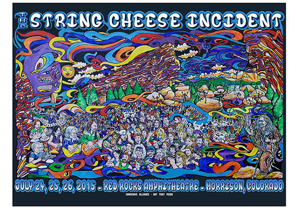 String Cheese Incident Red Rocks Amphitheatre - 2015
