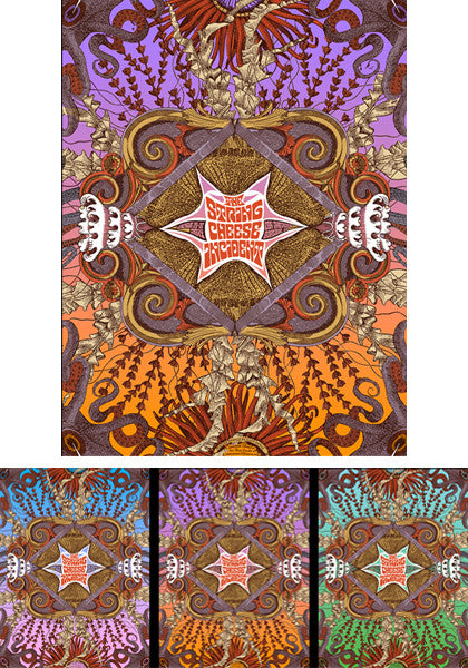 String Cheese Incident Oakland - 2014 (3 Panel)